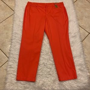 JM Collection Ankle Pants Size 16 NWT